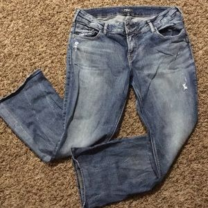 """Silver Jeans """"Suki"""" bootcut sz 16/L31"""